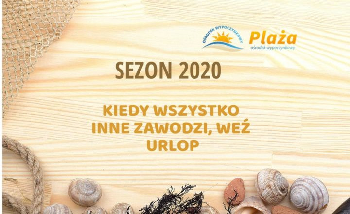 Informacje na sezon 2020